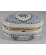 Vintage Otagiri Rosa Tavistock Porcelain San Francisco Music Box Trinket... - $18.99