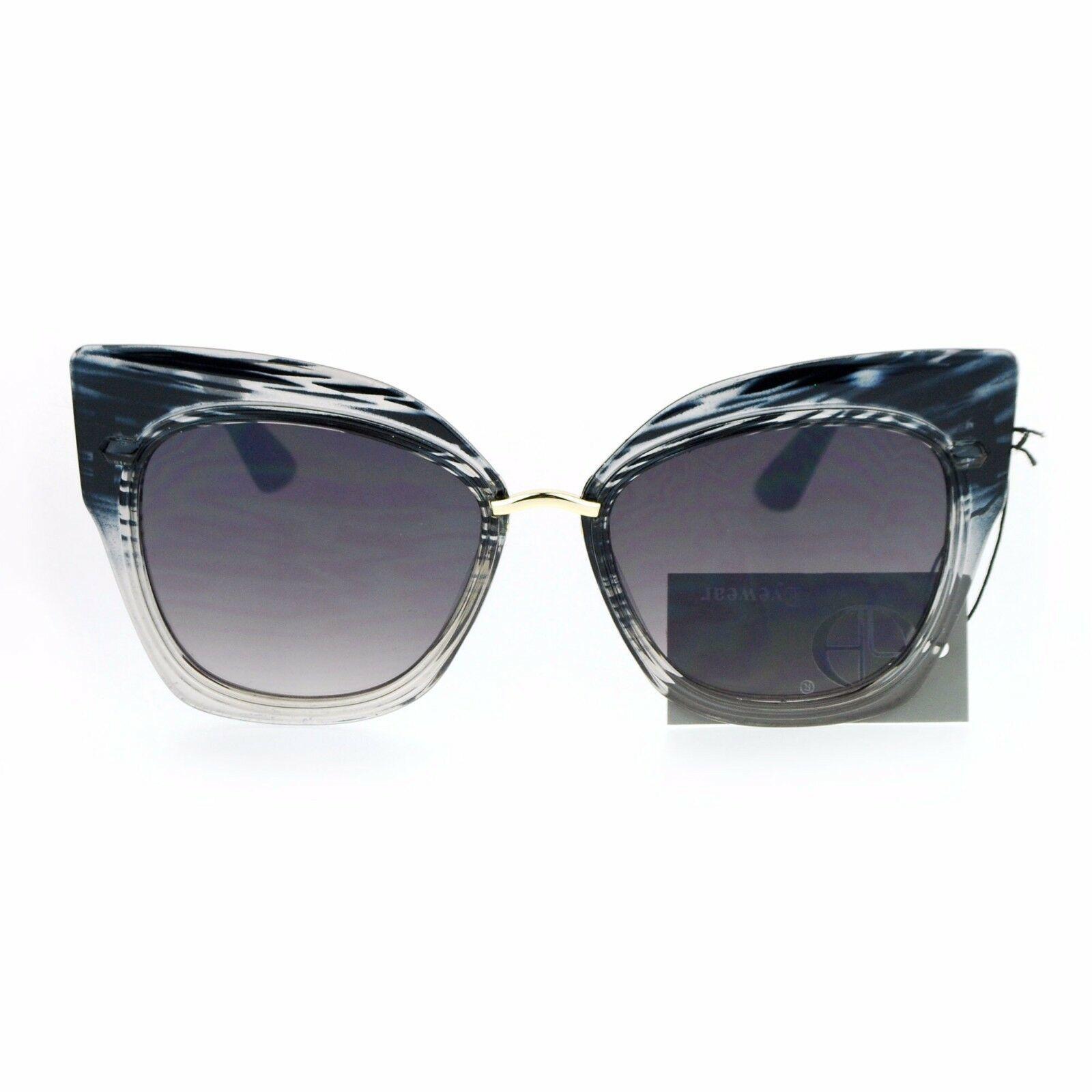 Oversized Fashion Sunglasses Womens Square Cateye Butterfly UV 400 image 10