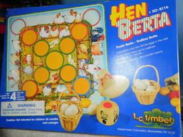 Hen Berta Board Game--Wooden Parts-Complete - $35.00
