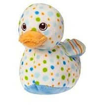 Mary Meyer Plush Bobber Ducky Rattle - Blue - 6 Inches - $18.39