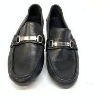 Cole Haan Mens Horse Bit Pebble Grain Leather Casual Loafers Sz 9M (SH-104) image 3