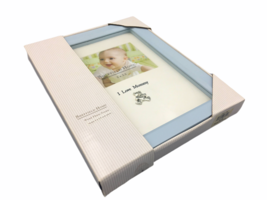 Sheffield Home I Love Mommy  5 x 3.5 Blue Wood Picture Photo Frame - $11.99