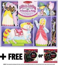Lila & Lucky: Magnetic Dress-Up Set + FREE Melissa & Doug Scratch Art Mini-Pad B - $31.43