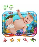 Tummy Time Mat Inflatable Baby Water Play Mat - $9.49