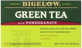 Bigelow Green Tea w/ Pomegranate Tea Bags,20 Count - $3.33