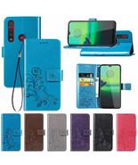 For Motorola Moto G8 Plus G8 E6 Play Magnetic Flip Leather Wallet Case C... - $61.50