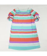 Everly Dress Womens Size Small Striped Shift Multi-Color Short 3/4 Sleev... - $13.48