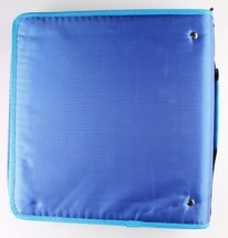 "NEW Five Star Zipper Binder + Tech Pocket, 2"", Blue Orange, 12-3/4"" x 12"" NWT image 2"