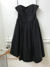 Luella Black Strapless Sweetheart Neckline Dress Size 7  for Target - $18.95
