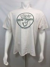 Herb Pharm 100% Cotton Hanes Beefy T-Shirt Men Size XL 46-48 Williams Or... - $19.60