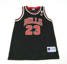 Vintage 90's Champion Michael Jordan 23 Chicago Bulls NBA Jersey Youth L... - $34.60