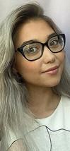 New TORY BURCH TY 6820 7713 Black 52mm Rx Women's Eyeglasses Frame #3 - $99.99