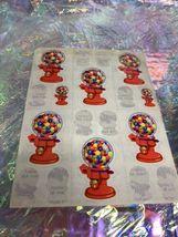 Vintage Lisa Frank Partial Sticker Sheet S157 Damaged But Useable! Cool Rare image 5