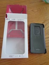 LG G Flex Quick Window Smart View Flip Folio Case Black NIB - $39.99