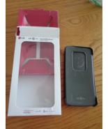 LG G Flex Quick Window Smart View Flip Folio Case Black NIB - $33.99