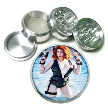 Cosplay Pin Up Girls D16 63mm Aluminum Kitchen Grinder 4 Piece Herbs & Spices - $11.05