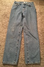 Womens CK Calvin Klein Double Stone Washed Easy Fit Jeans, Size 10x32 - $28.99