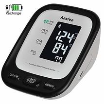 Tensiómetro de Brazo Digital Recargable USB, Monitor Eléctrico de Presión - $25.08