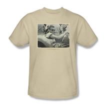 James Dean T-shirt Porsche Pic beige retro vintage graphic cotton tee DEA472 image 2