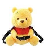 Disney Official Carry On Bag 2 Way Winnie The Pooh Plush Doll Limited Japan - $97.23