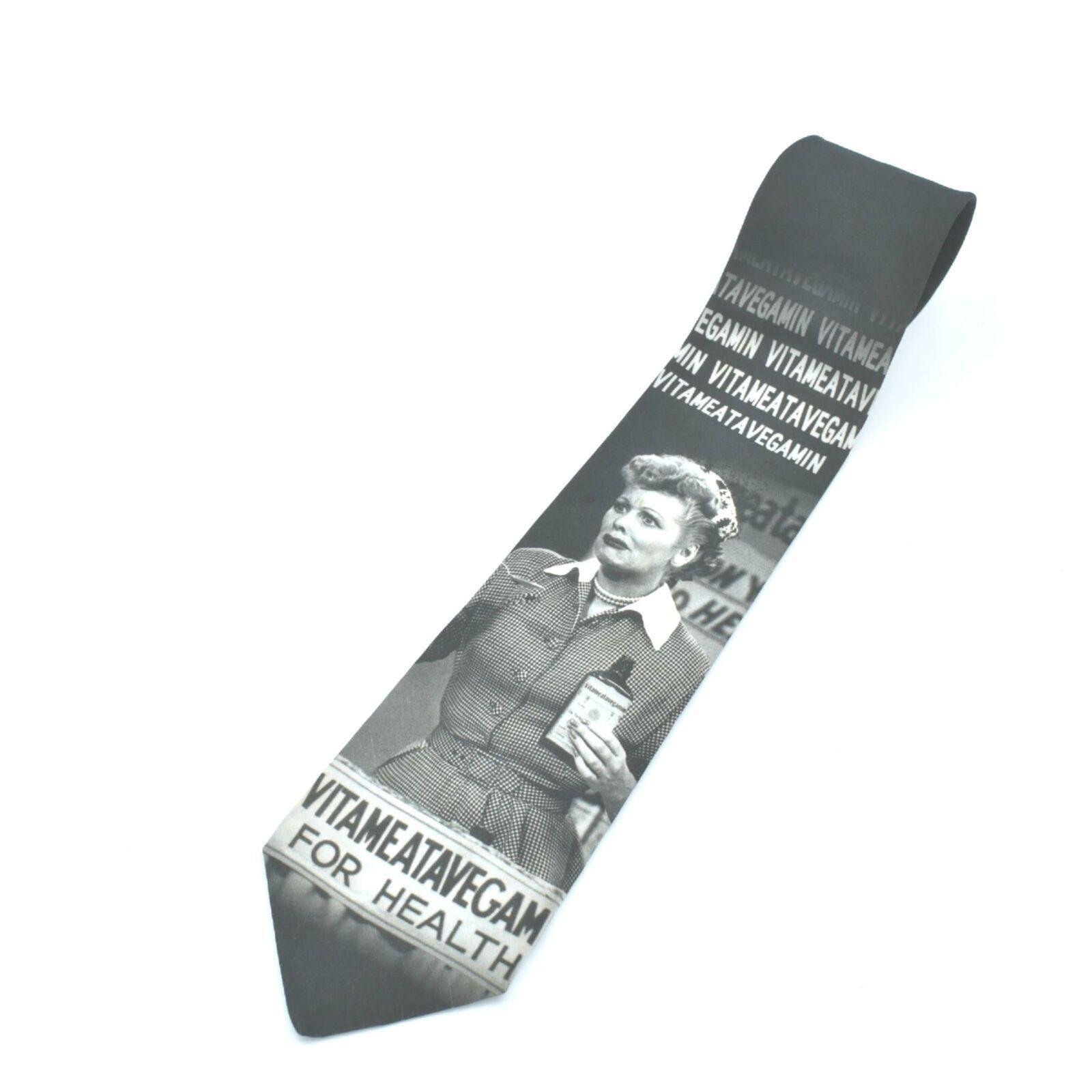 Ralph Martin Lucy Vitameatavegamin Polyester Tie Necktie