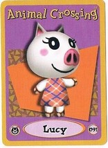 Lucy 091 Animal Crossing E-Reader Card Nintendo GBA - $9.89