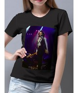Prince - Nude Tour 1990 Women's Cotton Black T- Shirt - $14.99+