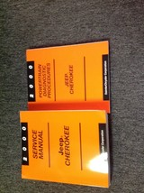 2000 JEEP CHEROKEE Service Repair Shop Manual Set W Powertrain Diagnostic Book - $227.65