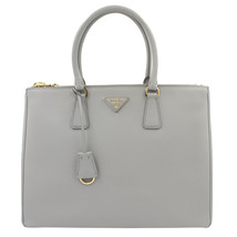 PRADA Saffiano Lux Galleria Granito Leather Ladies Tote 1BA786NZV - $1,799.00