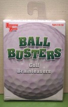 Ball Busters Golf Card Game brainteasers trivia University Games ages 8+... - $8.99