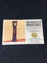 House Of Miniatures 40018 William And Mary Tall Case Clock - $19.79