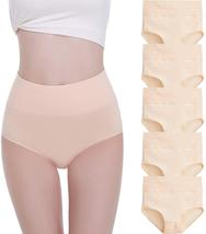 Falary Women'S High Waist Cotton Underwear Full Briefs Ladies Soft Panti... - $27.47