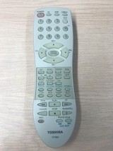Toshiba CT-852 Remote Control Tested And Cleaned                    H7