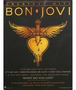 BON JOVI WINDOW PROMO POSTER GREATEST HITS (C10) - $8.58