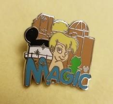 Disney 2007 Tinkerbell Magic Trading PIN Hidden Mickey Peter Pan Blue Co... - $4.84