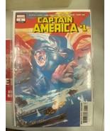 Captain America #1 Marvel Comics 2018 Series Comic Book Great condition  - $5.89