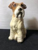 Vintage PORCELAIN LARGE Dog Figure - $23.38