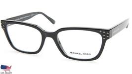 New Michael Kors MK4056 Vancouver 3009 Black Eyeglasses Frame 51-17-140 B35mm - $57.81