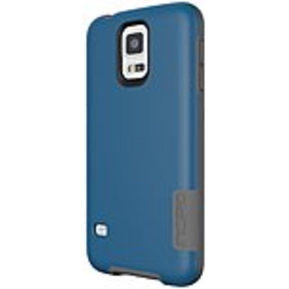 Incipio OVRMLD Case for Samsung Galaxy S5 - Navy/Gray - SA-531-NVY - Flexible Ha