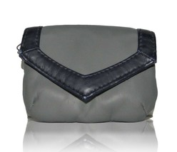 NEW GRAY PVC COIN WALLET CLUTCH FOR BAG M STYLE LAB - $3.91