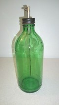 Vintage Glass Bottle With Pump 1953 Owens-Illinois Glass Company - $9.99