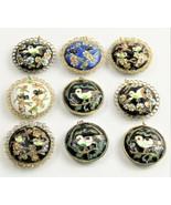 ESTATE VINTAGE Jewelry CHINESE EXPORT CLOISONNE BIRD PENDANT - CHOICE - $25.00