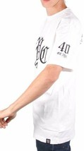 40 Oz Forty Ounce NYC Mens White Black Embroidered Old English New York T-Shirt image 2