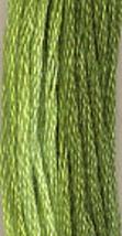 Spring Grass (0180) 6 strand hand-dyed cotton floss Gentle Art Sampler T... - $2.15