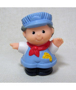 Fisher Price Little People TRAIN ENGINEER CONDUCTOR 1996 Circus Train # ... - $3.50