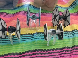 4 Dif Fighter SHIPS on Stands Star Wars X-Wing Miniatures Game Replacemeñts - $19.99