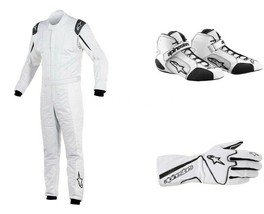 Go Kart Race Suit CIK FIA Level 2 Approved Shoes with free gift Gloves - $98.99
