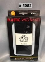 """QFITT MAKE YOUR OWN WIG DIY ELASTIC WIG BAND 1-3/4"""" X 1YD #5052 BLACK"""