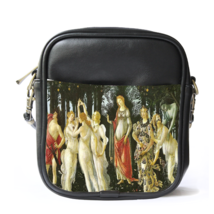 Sling Bag Leather Shoulder Bag Sandro Botticelli Italian Painter Beauty ... - $14.00