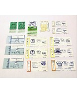 1975-1992 Los Angeles Dodgers 15 Ticket Stub Collection  - $24.99